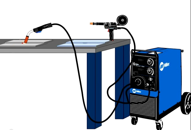Miller MIG Welder Feature - Gun-On-Demand